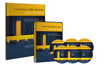 Create Your Killer Keynote Home-Study Course